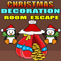 Yalgames christmas decoration room escape escape games for Xmas room decor games