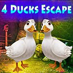 Games4King Four Ducks Escape