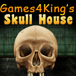 Games4King Skull House Escape