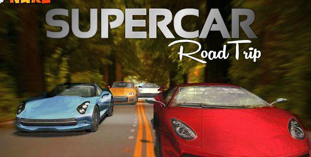 Super car road trip