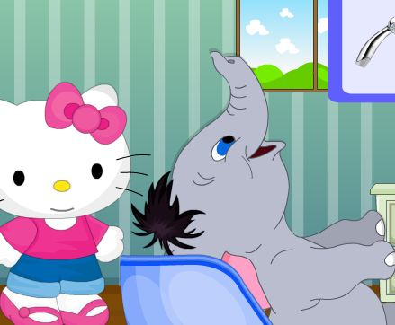 Jumbo At Hello Kitty Hair…