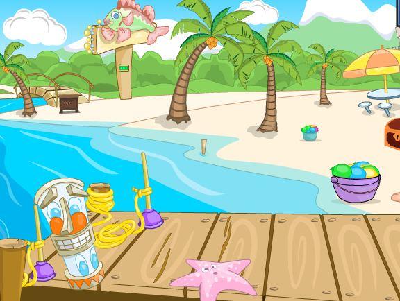 Games4King Beach Surf Esc…