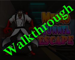 Metro Tunnel Escape Walkthrough