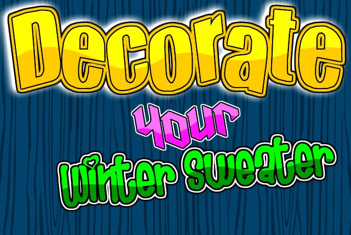 Decorate Your Winter Swea…
