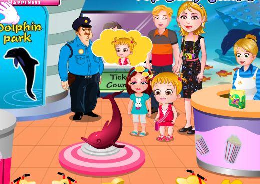 TopBabyGames Baby Hazel Dolphin Tour