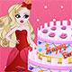 Apple White Birthday Cake