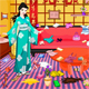 Chinese Princess Room Cleaning