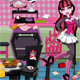 Draculaura Messy Kitchen …