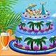 Elsa Beach Cake