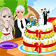 Elsa Princess Wedding Cak…