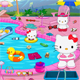 Hello Kitty Messy Swimmin…