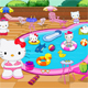 Hello Kitty Swimming Pool Decor
