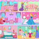 Princess Aurora Doll House Decor
