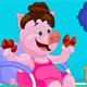 Princess Piggy Hair Salon